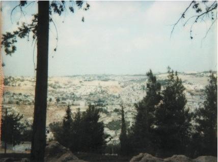 7 hills, jerusalem, israël