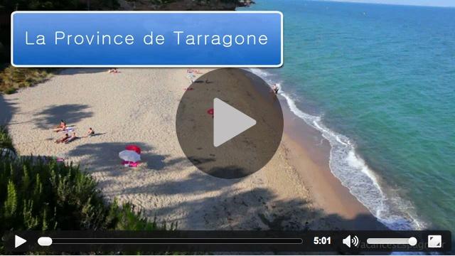 Vidéo d'information touristique sur la province de Taragone : informations de voyage, histoire, carte et lieux d'intérêt pour vos vacances dans la province de Taragone.