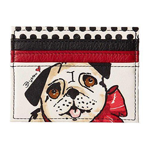 (ブライトン) Brighton レディース アクセサリー 財布 Fashionista Paris Pug Card Case 並行輸入品  新品【取り寄せ商品のため、お届けまでに2週間前後かかります。】 表示サイズ表はすべて【参考サイズ】です。ご不明点はお問合せ下さい。 カラー:Multi