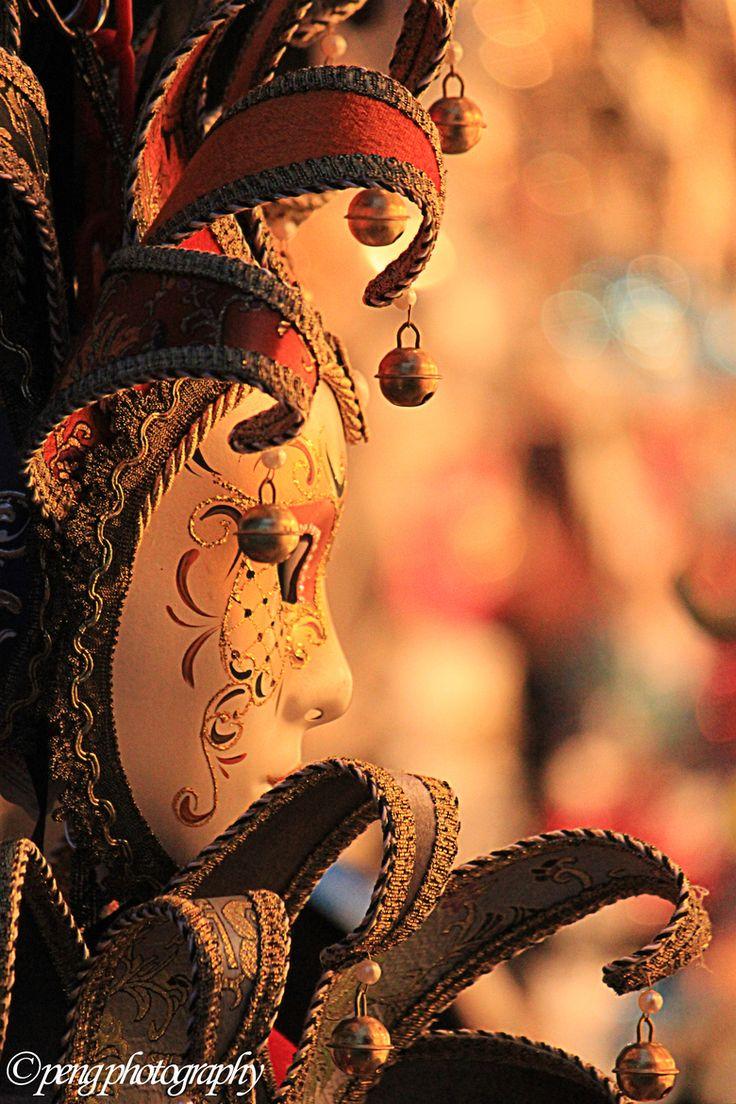 Handmade Carnival Mask in Venice