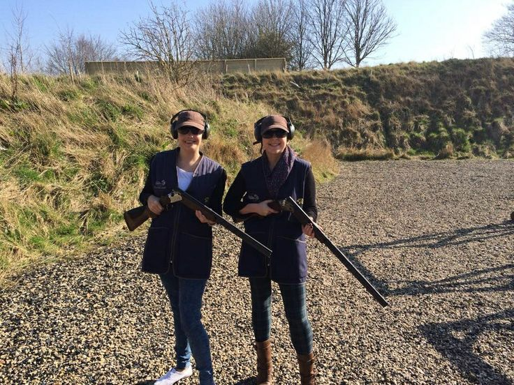 #100happydays day 61 - clay pigeon shooting!