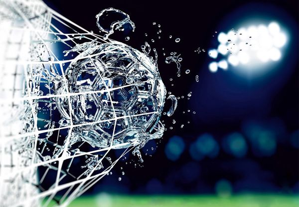 Water ball by Damian Misiura, via Behance