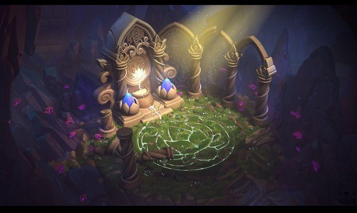 Ancient Civilization Challenge, Anthony Trujillo on ArtStation at https://www.artstation.com/artwork/z1r12