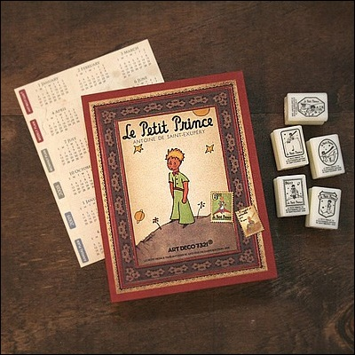Le Petit Prince Diary Journal Daily Planner + Stamp Kit | eBay