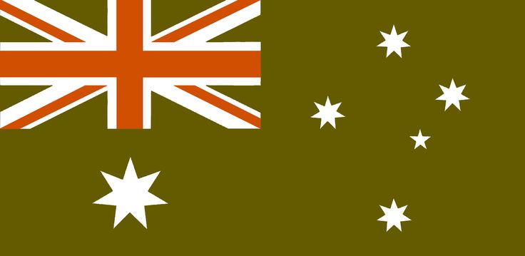"""A new interpretation of the Australian Flag. This concept is developed while responding to our #ANZAC100 Centenary Commemorations and the last 30+ years search for a new flag identity by #Ausflag (Ltd).  This design """"naturalises"""" the 1901 flag (generally the Red Ensign) and it's colonial elements of the Union Jack (in canton position) by a distinct and original """"colour-shift"""" instead of a partial or total replacement. Presented as a concise re-contexturalisation, and as an """"evolutionary…"""
