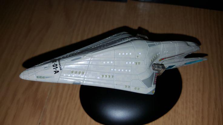 dauntless uss nx eaglemoss collection starships official trek star