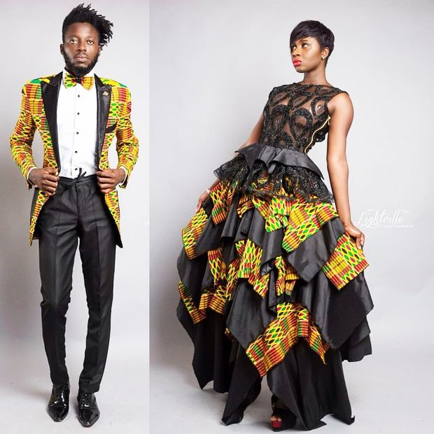 BigBrotherAfrica's Elikem Kumordzie The Tailor Releases The Kentelization Collection   FashionGHANA.com: 100% African Fashion