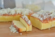 Taisan is a popular Filipino chiffon cake topped with melted butter and sugar. In this recipe, I used a regular loaf pan to make my version of taisan.
