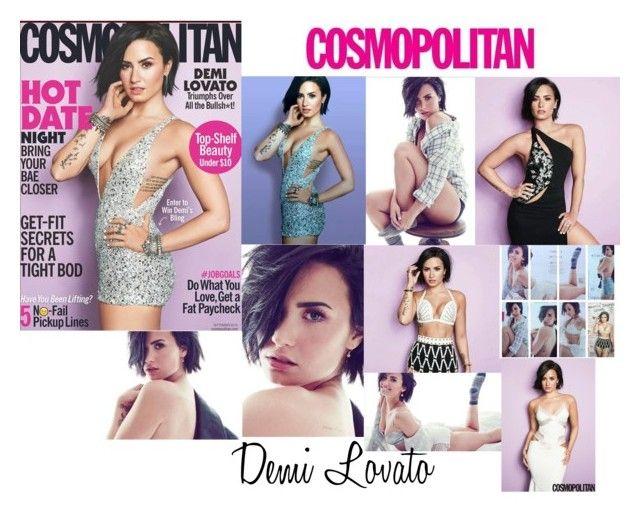 Demi Lovato Photoshoot Cosmopolitan Magazine 2015
