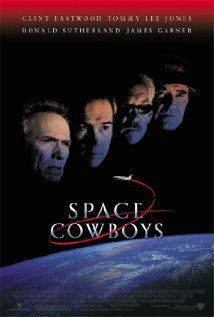 Space Cowboys (2000). How Mr Eastwood managed the egos making this film would be an interesting story. This film isn't on par with The Right Stuff or Apollo, but it does entertain and the stars seem to have fun making the film.