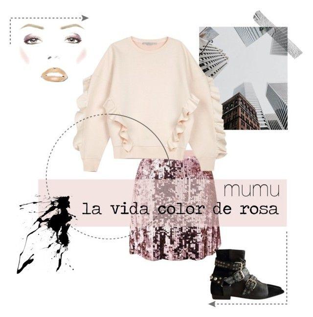 """la vida color de rosa 4"" by onmymumu on Polyvore featuring moda, Tory Burch, STELLA McCARTNEY y Isabel Marant"