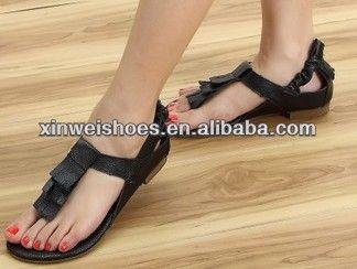 Fashion flat summer sandal 2014 for women
