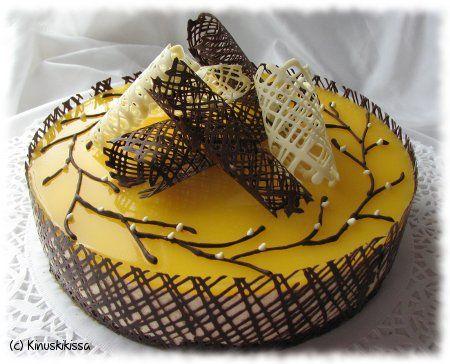 Appelsiini-valkosuklaakakku | Kinuskikissa