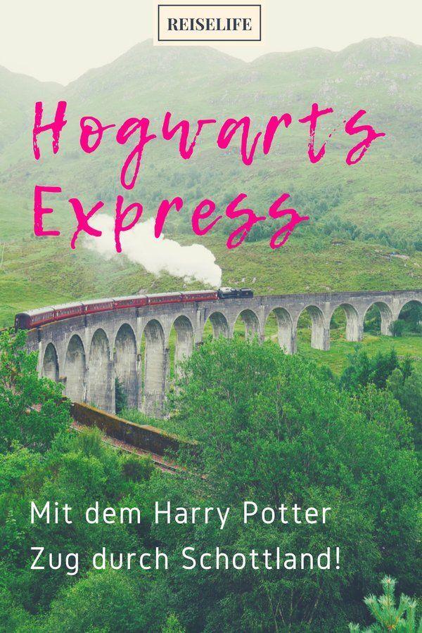 Hogwarts Express Unterwegs Im Harry Potter Zug Reiselife Reiselife Harry Potter Reise Zugreise Hogwarts
