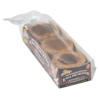 Food For Life English Muffin Ezekiel Cinnamon Raisin Organic, 16 Ounce (Pack of 6) * New and awesome product awaits you, Read it now  : Fresh Groceries