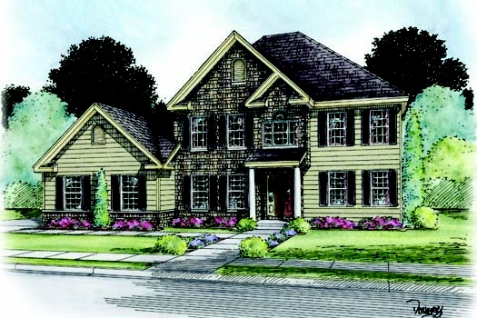 7 best fine line homes two story home plans images on for Fine line homes floor plans