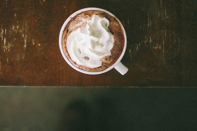 a dark chocolate mocha   Sarah Jane