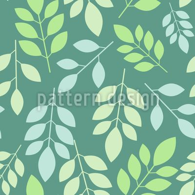Chaotic leaves Vector Design Vector Design by Elena Alimpieva at patterndesigns.com
