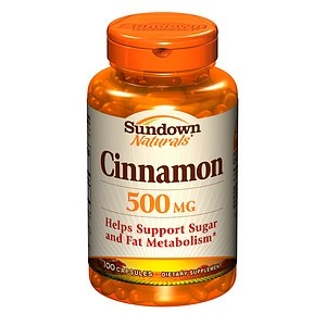 cinnamon pills: I take these for diabetic support; they help to regulate sugar absorption and digestion. they are extremely helpful (and proven) in lowering blood glucose levels and flushing out any excess sugars the body may have absorbed.