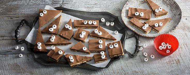 Spooky Salty Sweet Biscuit Toffee