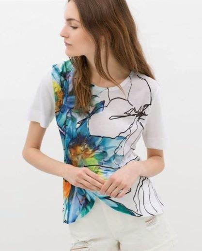 let's shop here : Floral Print Blouse