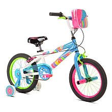Girls' 16 inch LittleMissMatched Zipper Bike
