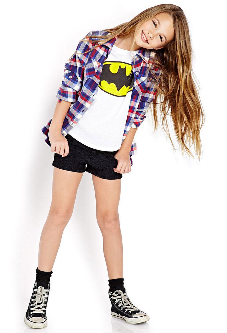 Batman Tee (Kids)   FOREVER21 girls - 2078395226