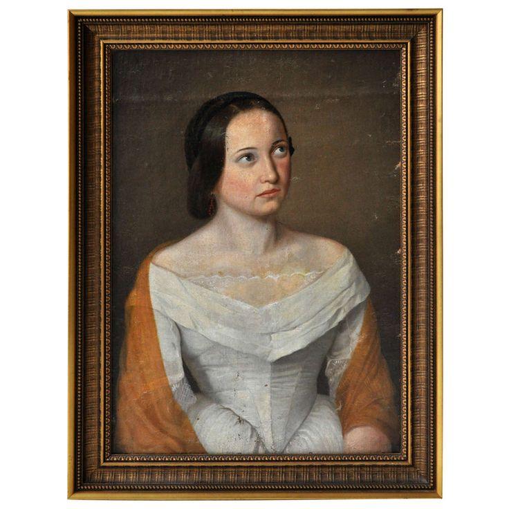 """Hungarian Woman"" Oil Portrait"