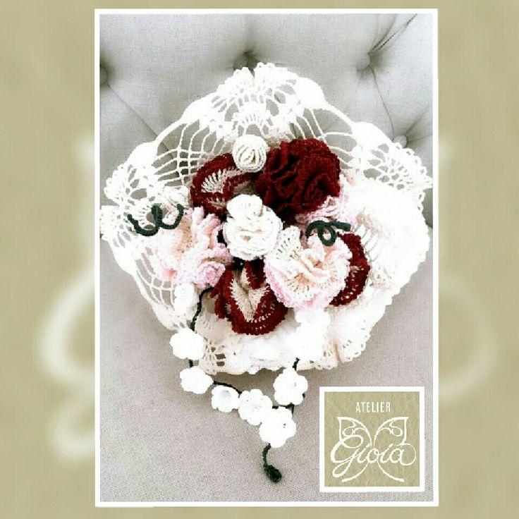 Bouquet all'uncinetto