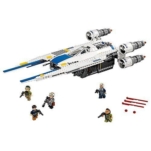 LEGO Star Wars Movie Toy For Kids Boys Rebel U Wing Fighter Building Learning  #LEGO
