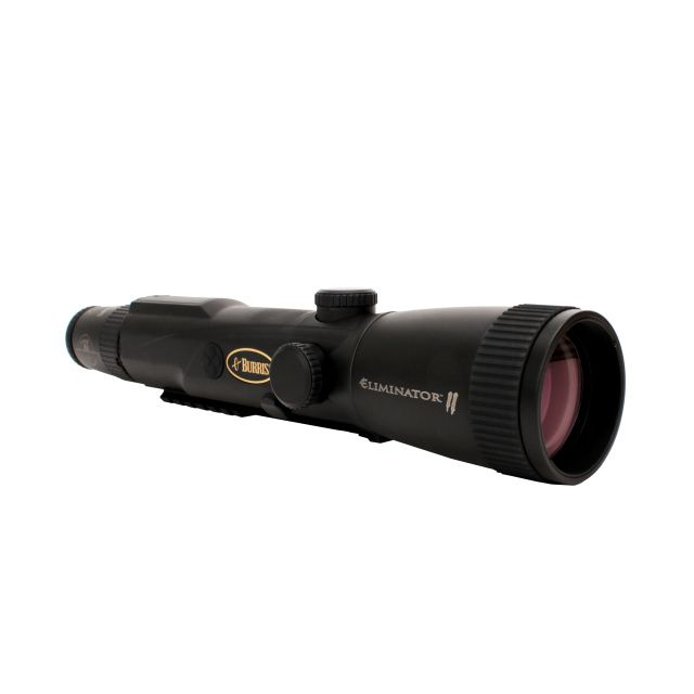The Eliminator LaserScope II - Combining outstanding optics with pinpoint laser rangefinding and precision trajectory compensation with the exact ammunition you choose for your hunt.