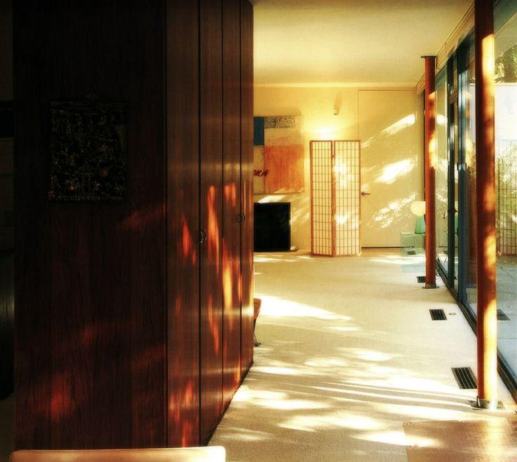 Philip Johnson, Ash Street house, Cambridge, Massachusetts, USA, 1942–1943/ Филип Джонсон, Дом Джонсана в Кембридже, Кембридж, Массачусетс, США, 1942–1943