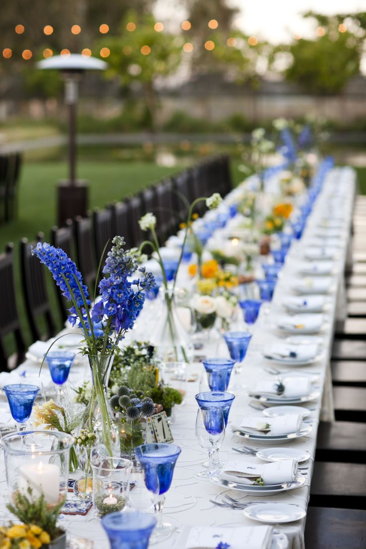 Wedding decoration ideas blue and white   best blue 配色 images on Pinterest  Behavior Birthdays and Cosmos