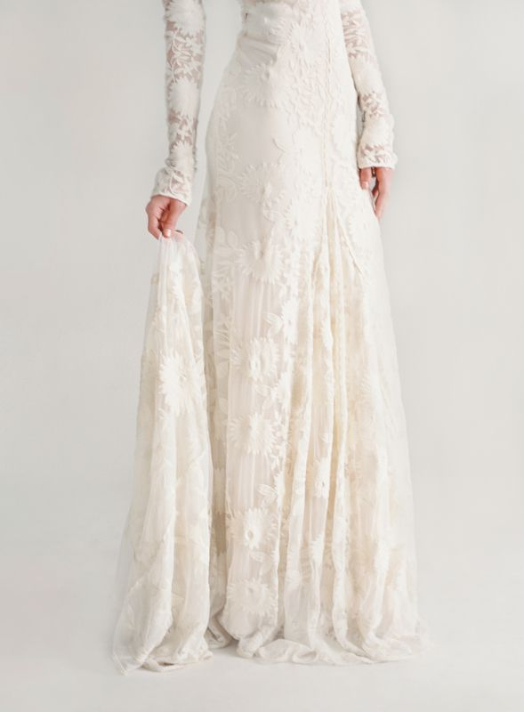 Rue De Seine Chloe Wedding Dress via oncewed.com