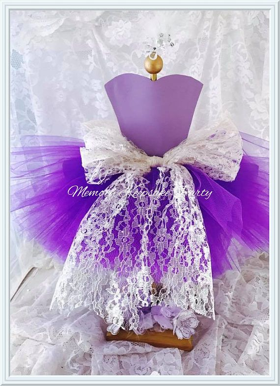 Tutu Centerpiece - Tutu Party Decorations - Ballerina Party Decorations - Tutu Party Decor - Tutu Birthday Party Centerpiece - Ballet Party