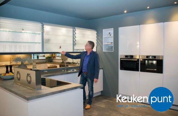 Prachtige showroom keuken bij Keukenpunt Leeuwarden!