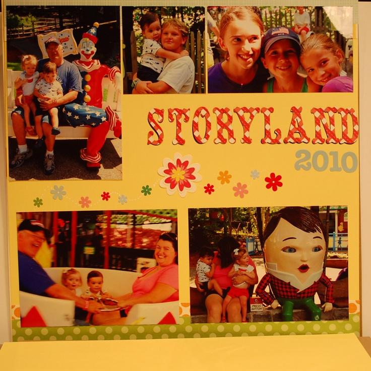 Storyland 1 of 2: Scrapshar Forum, Scrapbook Discuss, Storyland Scrapbook, Discuss Forum, Forum Power