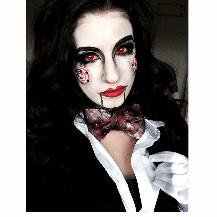 1000+ Ideas About Jigsaw Makeup On Pinterest | Jigsaw Costume Saw Makeup And Puppet Makeup