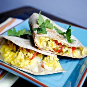 I made this for breakfast a couple days ago. It was so easy and my boyfriend who never eats breakfast loved it!