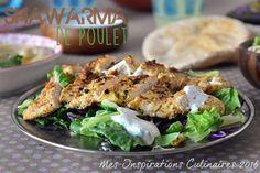 Shawarma de poulet libanais