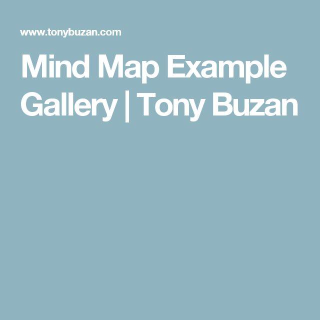 Mind Map Example Gallery   Tony Buzan