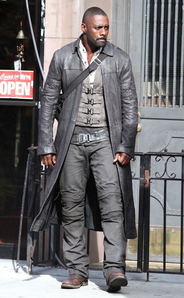 Idris Elba from The Big Picture: Today's Hot Pics  The actor is seen filming The Dark Tower in midtown Manhattan were he plays gunslinger Roland.