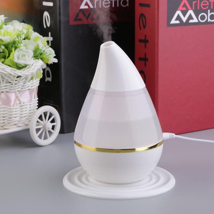 Ultrasons USB Air Humidificateur Purificateur 7 Couleurs Changeantes LED Aroma Atomiseur Hydratant Soins de La Peau