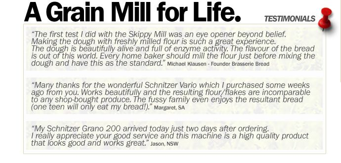 A Grain Mill for Life.