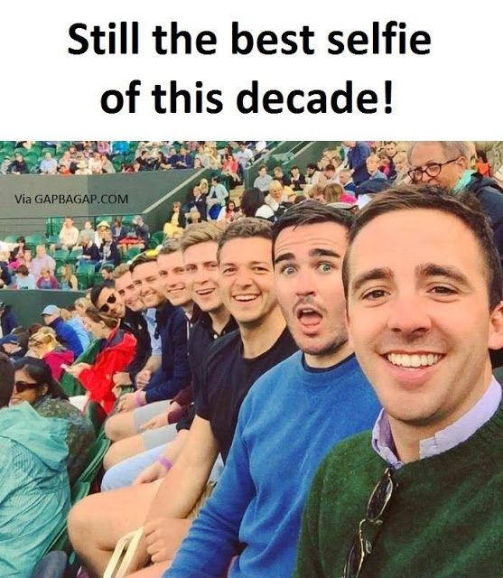 Funny Selfie Of The Internet