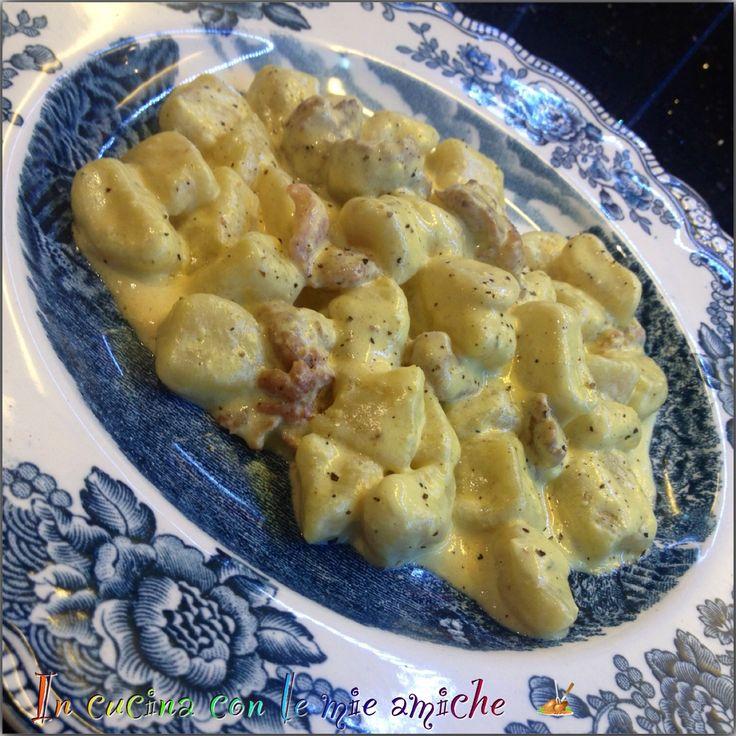 Gnocchi di patate al mascarpone e salsiccia