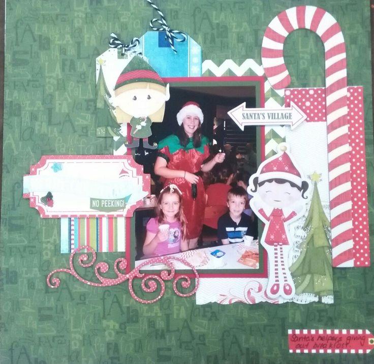 Scrapbooking Santa's Little helpers