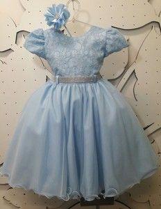 Vestido Juvenil Cinderela/Frozen - tam 4 ao 8