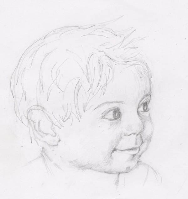 Картинки карандашом которые нарисовали дети