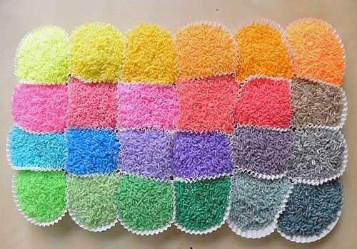 ¿Quieres saber como teñir el arroz de colores para tu boda? No te pierdas el paso a paso con vídeo tutorial fácil fácil...